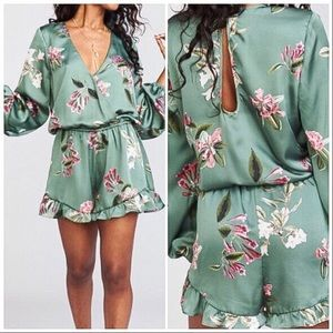 Show Me Your Mumu Rocky Romper in Laura Floral